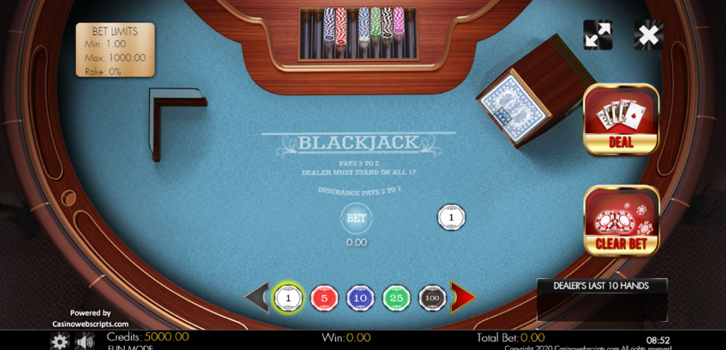 Blackjack Klassikaline